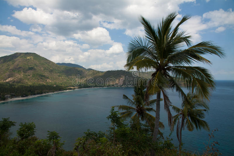 Взгляд природы Lombok, Индонезии стоковые фото