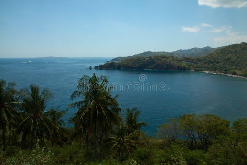 Взгляд природы Lombok, Индонезии стоковое фото