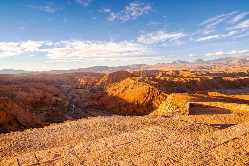 Взгляд пустыни Atacama стоковые изображения
