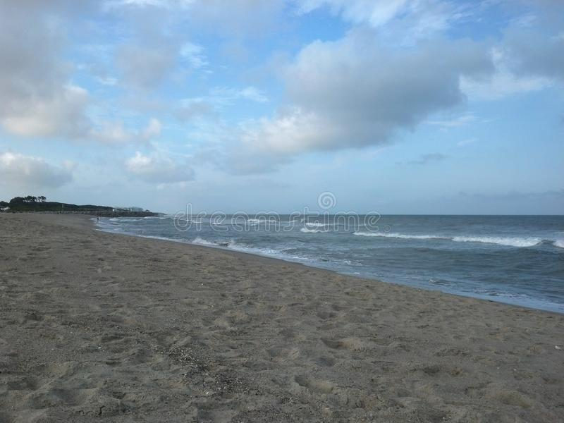 Взгляд пляжа стоковые фотографии rf