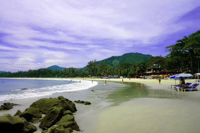 Взгляд пляжа Kata стоковые фото