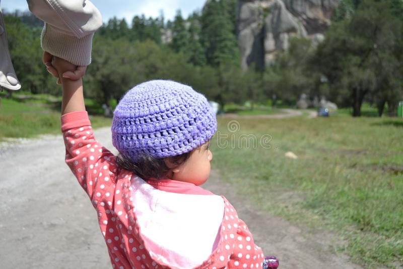 Взгляд ребенка стоковое изображение