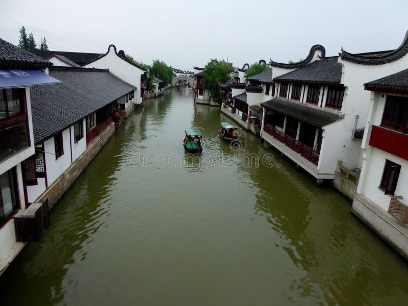 Взгляд древнего города Zhaojialou стоковая фотография