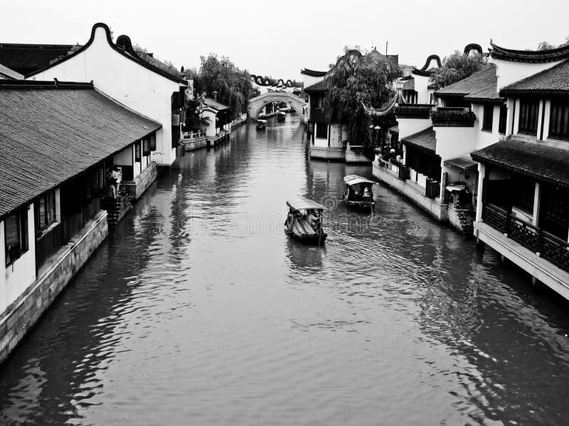 Взгляд древнего города Zhaojialou стоковое изображение