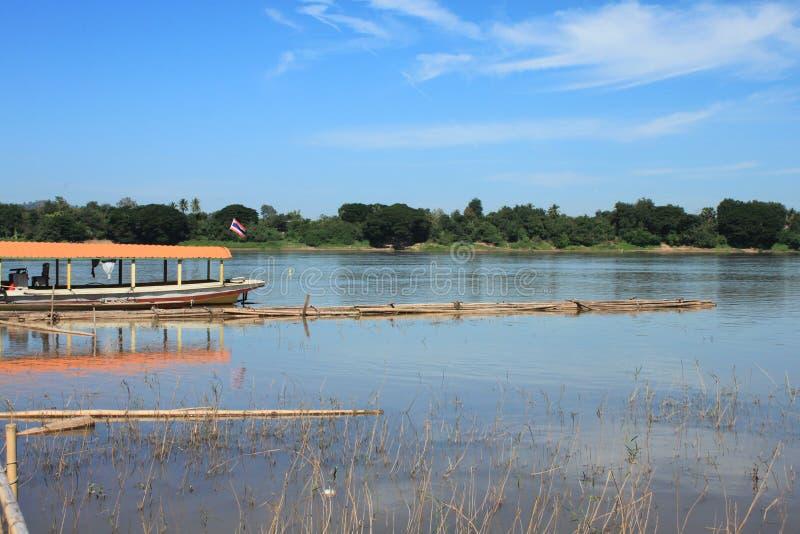 Взгляд реки стоковое фото rf