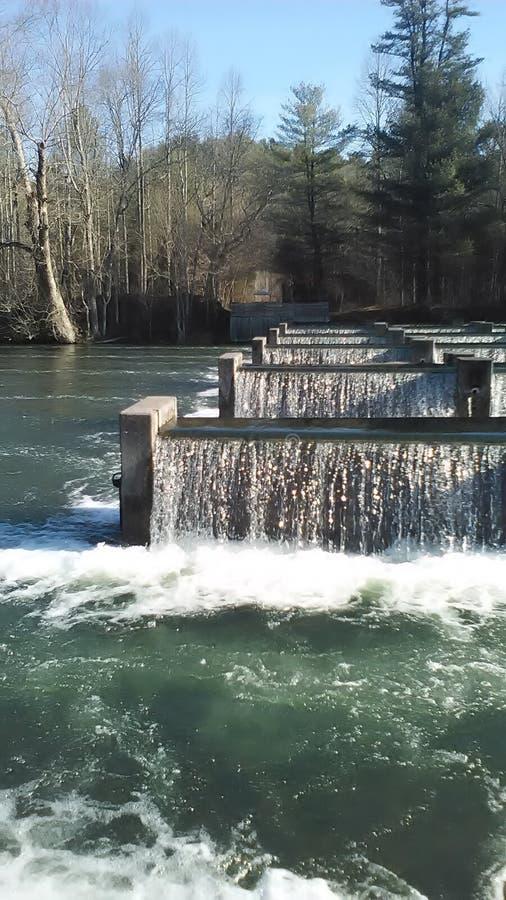 Взгляд реки стоковая фотография
