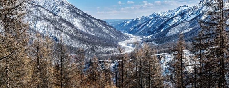 Взгляд реки Irkut стоковое фото rf