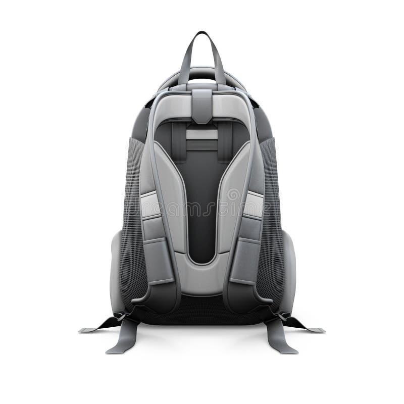 Взгляд рюкзака задний бесплатная иллюстрация