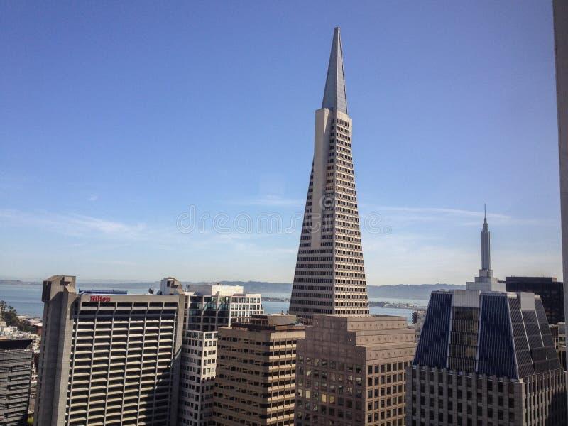 Взгляд Сан-Франциско a к день стоковые изображения