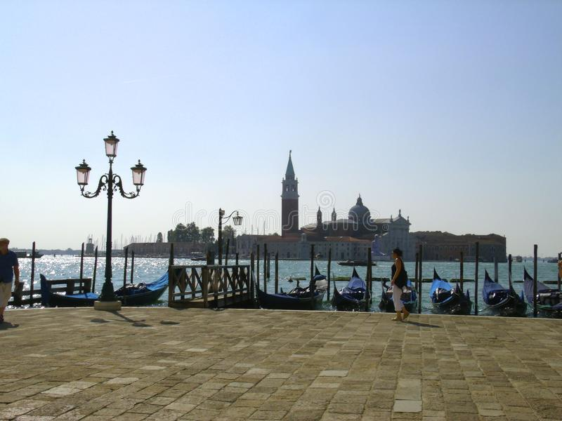 Взгляд Сан Giorgio Maggiore стоковое фото