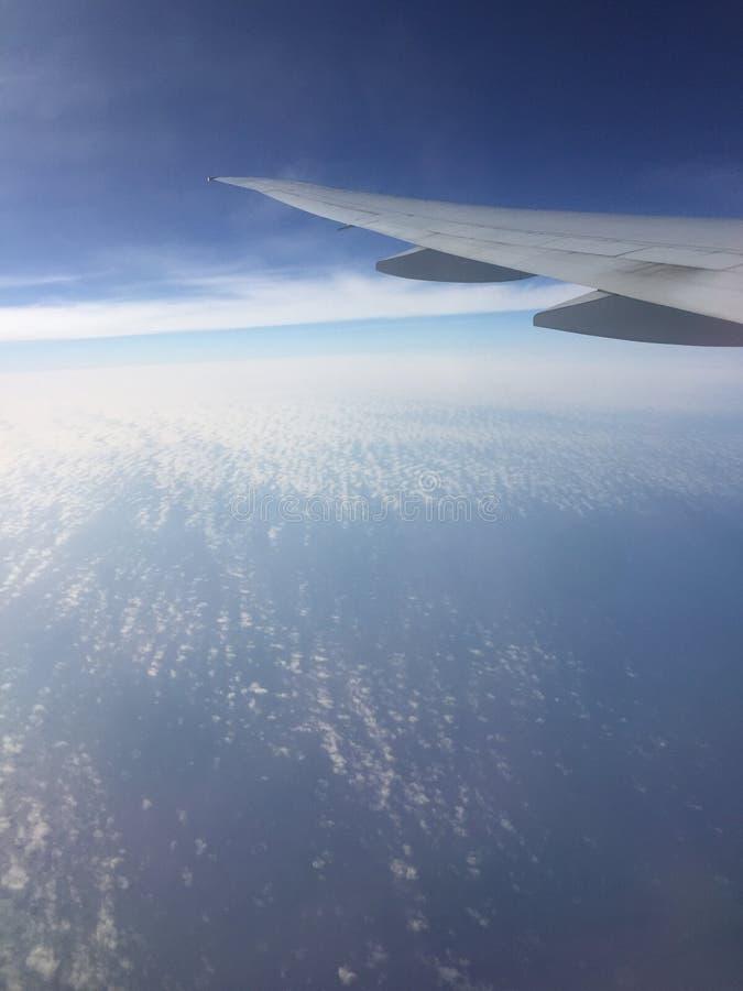 взгляд сверху Atlantic Ocean стоковые фотографии rf