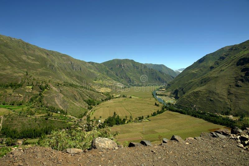 Взгляд священной долины стоковое изображение