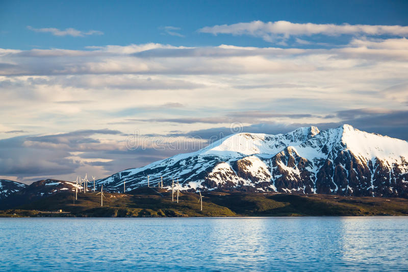 Взгляд северной Норвегии около Alta стоковое изображение