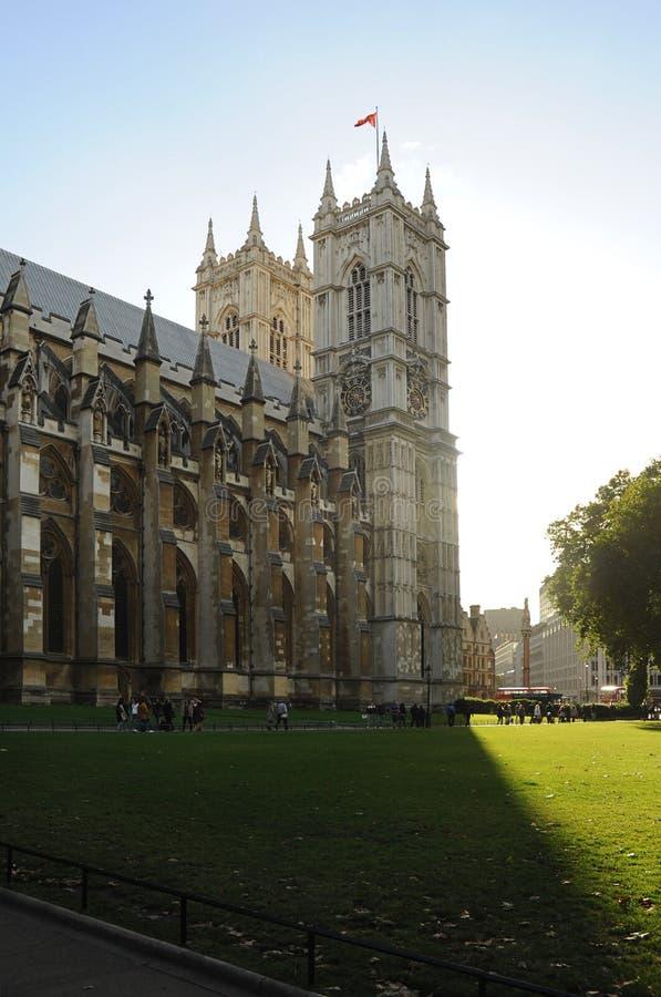 Взгляд со стороны Вестминстерского Аббатства, Лондона, Великобритании - 29-ое сентября 2012 стоковые фото