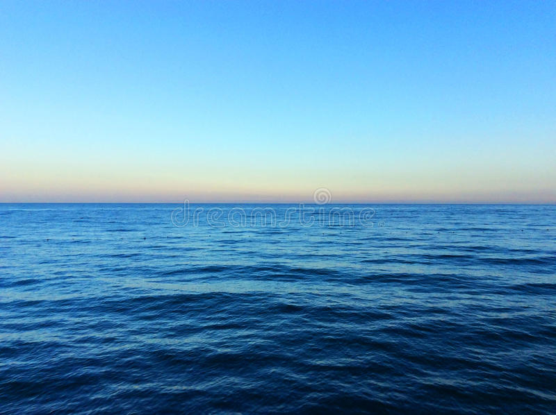 Взгляд Средиземного моря стоковые изображения rf