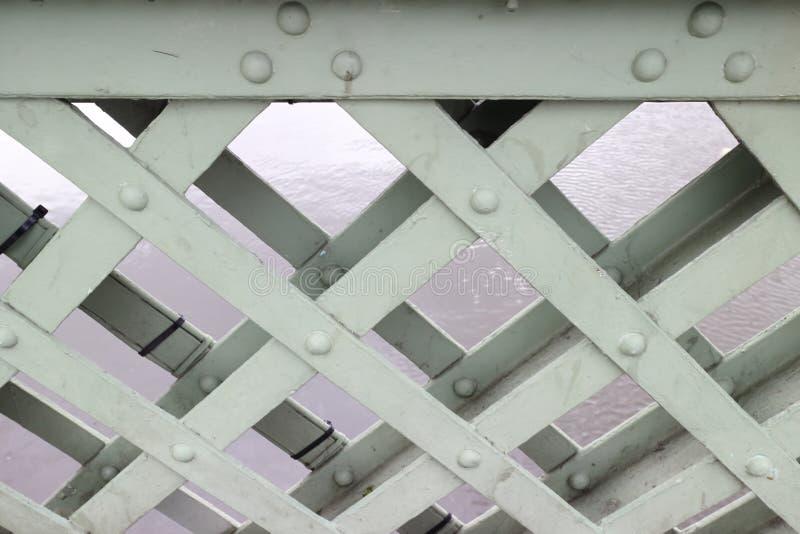 Взгляд луча и нескольких болтов стоковое изображение rf
