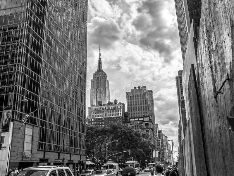 Взгляд улицы империи стоковые изображения