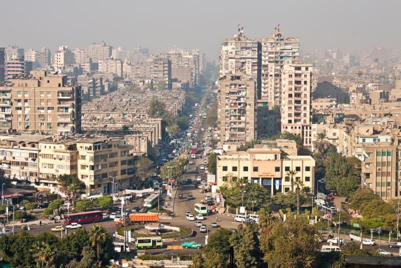 Взгляд улицы Каира стоковые изображения