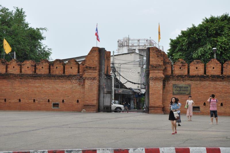 Взгляд улицы Таиланда стоковая фотография