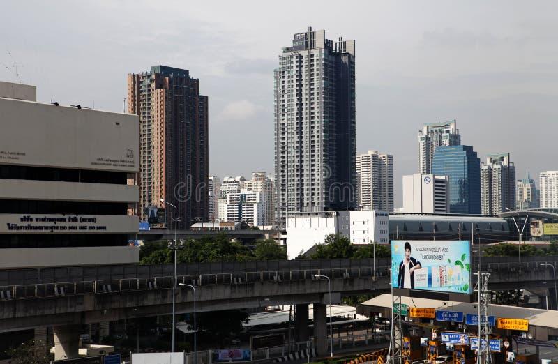 Взгляд улиц в Бангкоке стоковая фотография rf