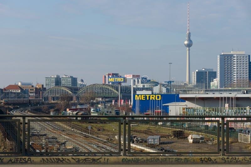 Взгляд центрального Берлина стоковое изображение