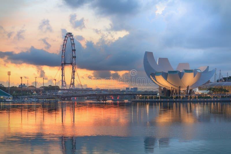 Взгляд центрального Сингапура стоковые фотографии rf
