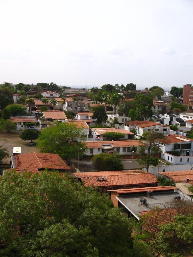 Взгляды зоны Chilemex Венесуэла стоковое фото