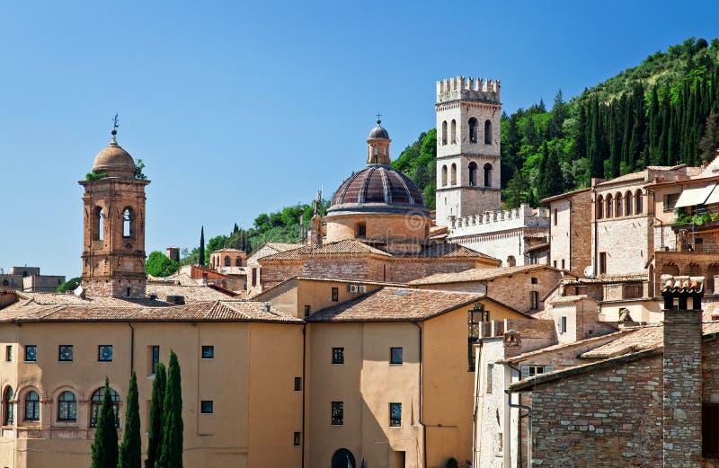 Взгляд Assisi стоковое изображение