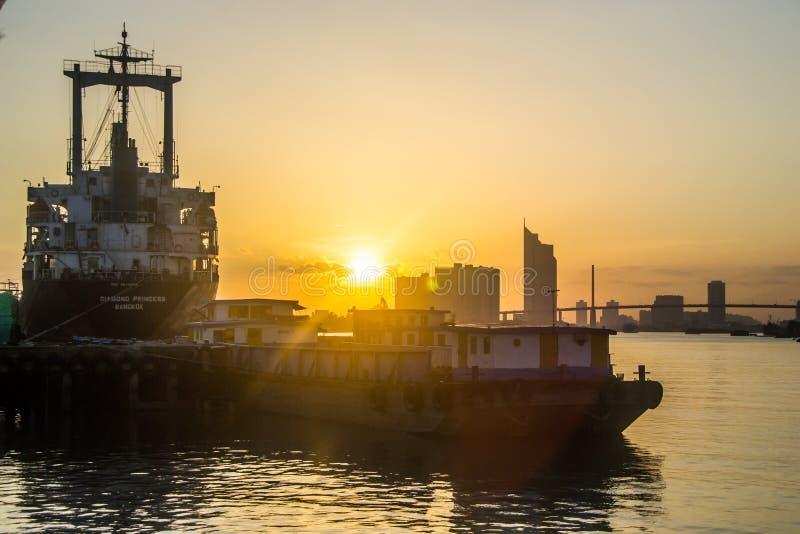 Взгляд Chao Рекы Phraya стоковая фотография