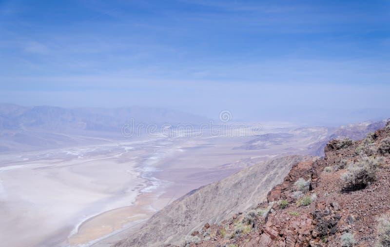 Взгляд Dante в Death Valley стоковое изображение rf