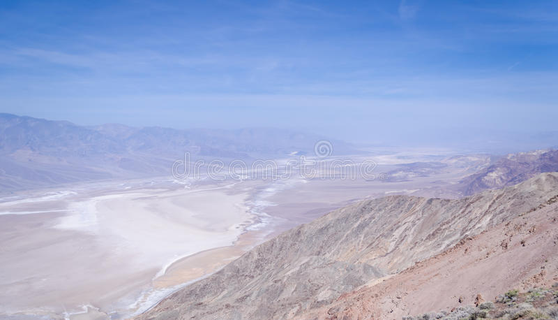 Взгляд Dante в Death Valley стоковые фото