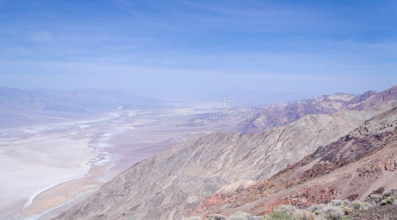 Взгляд Dante в Death Valley стоковые фотографии rf