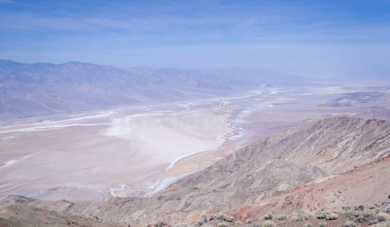 Взгляд Dante в Death Valley стоковая фотография rf
