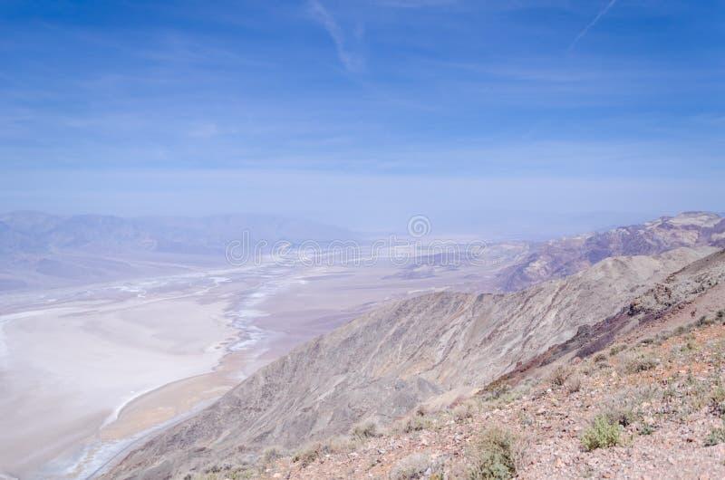 Взгляд Dante в Death Valley стоковое фото