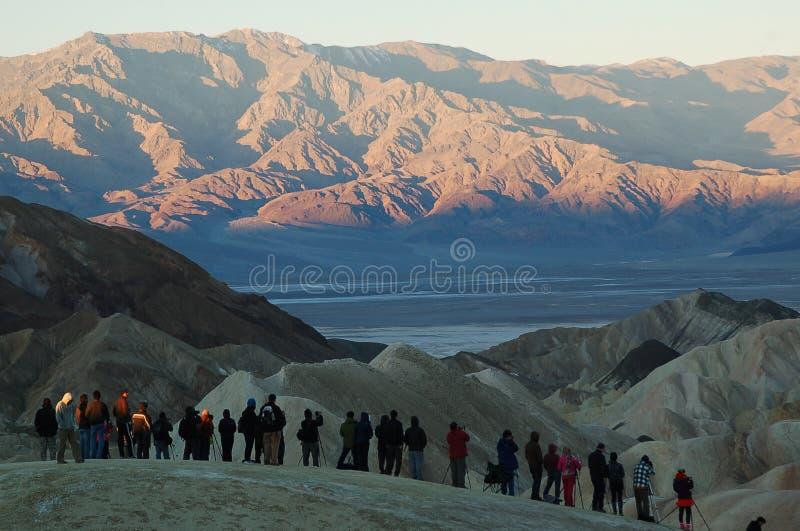 Взгляд Death Valley стоковое фото rf