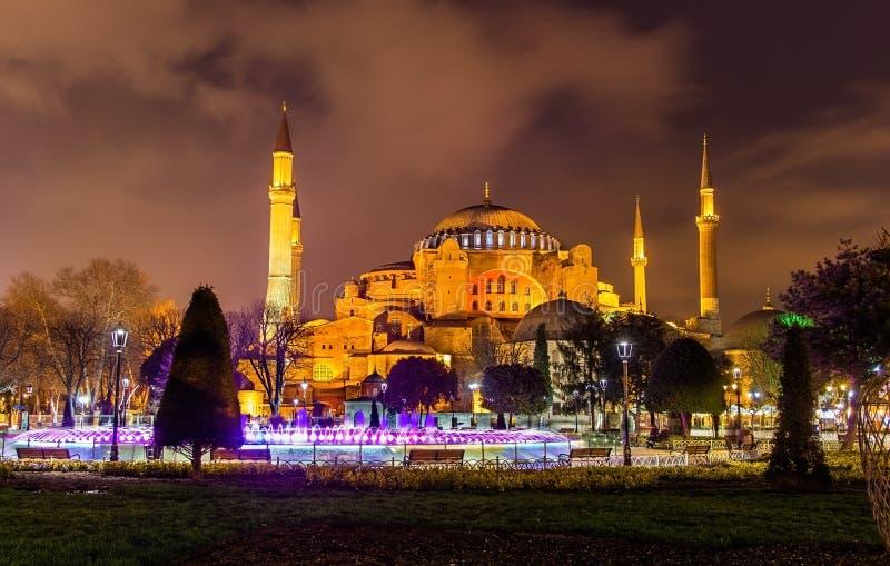 Взгляд Hagia Sophia (святой премудрости) - Стамбула стоковое фото
