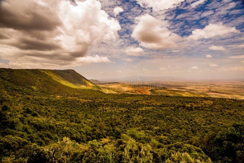 Взгляд Masai Mara стоковая фотография