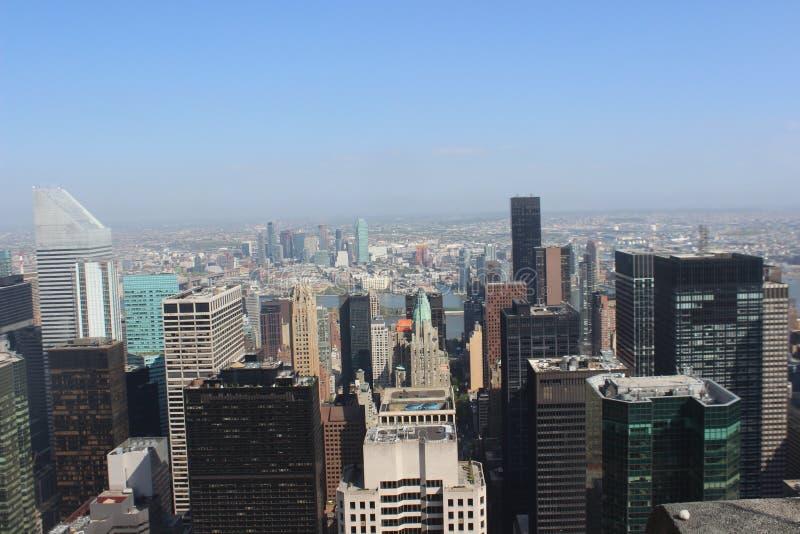 Взгляд NYC от TOTR стоковое фото