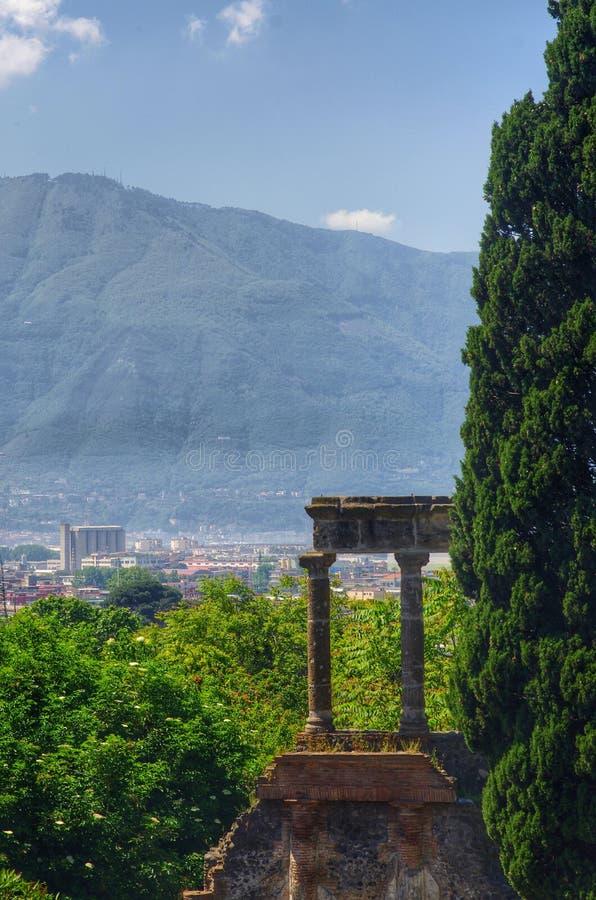 Взгляд Pompei стоковая фотография
