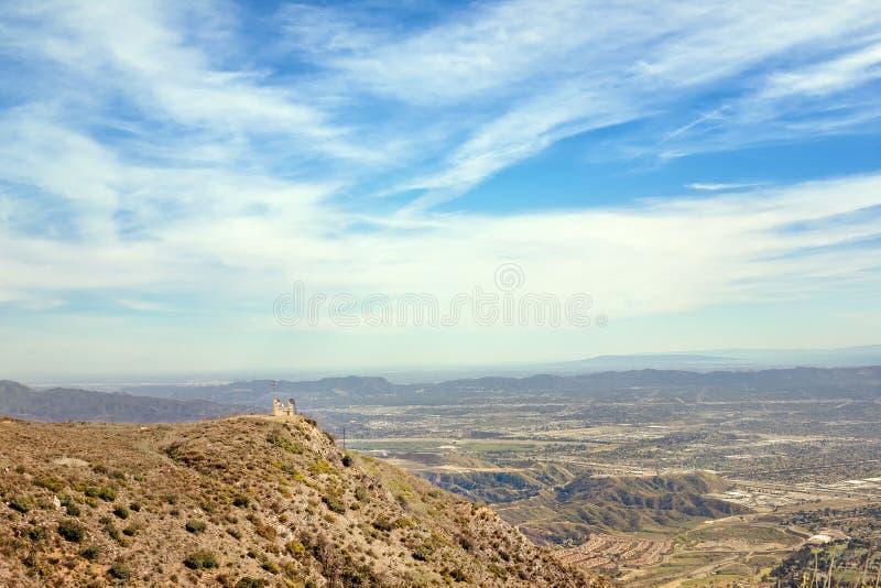 Взгляд San Fernando Valley стоковое изображение rf