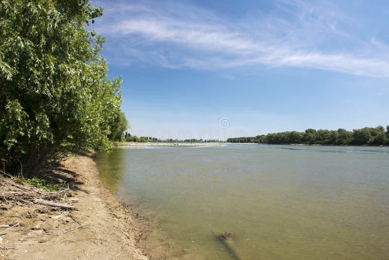 взгляд valentino turin реки piedmont po парка стоковые изображения rf