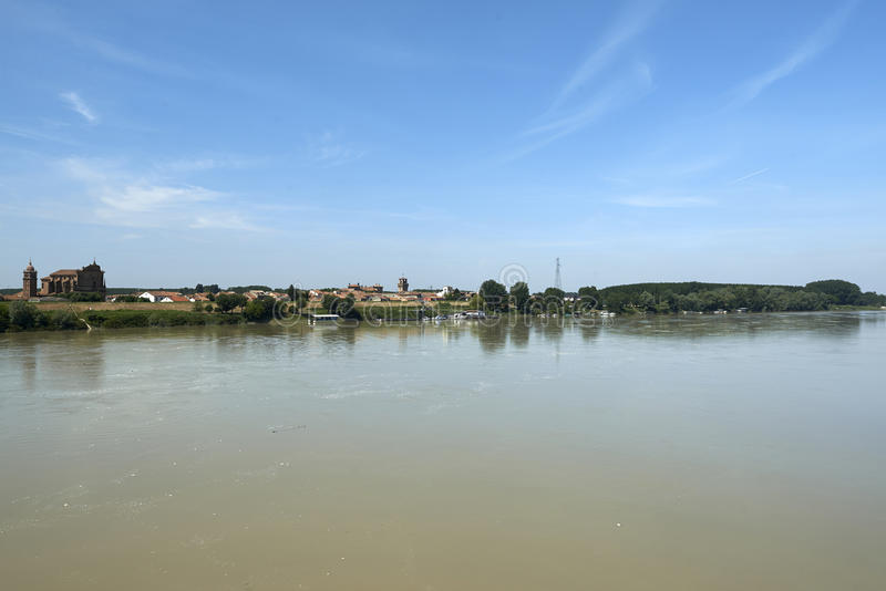взгляд valentino turin реки piedmont po парка стоковые изображения