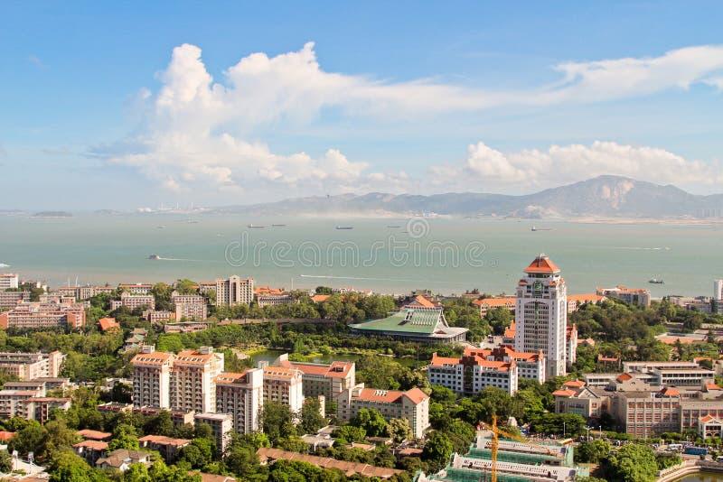Взгляд Xiamen стоковое изображение rf