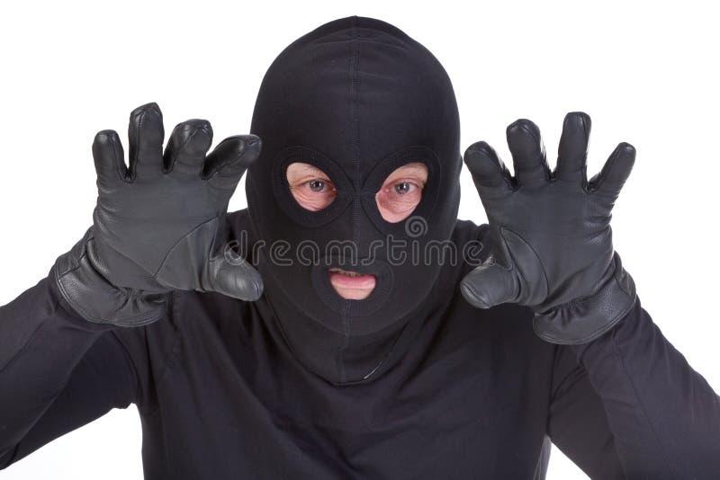 взломщик нападения стоковые фото