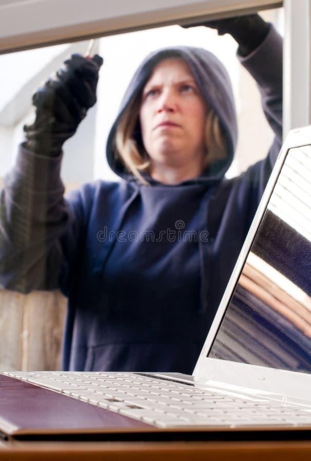 взломщик стоковая фотография