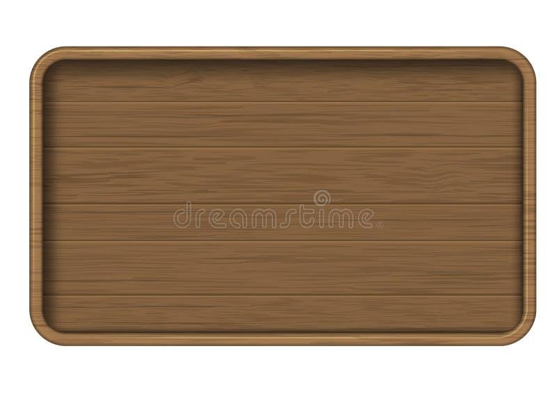 взойдите на борт знака деревянного бесплатная иллюстрация