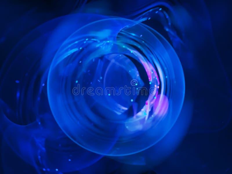 Взрыв цифровой, дизайн воображения абстрактного украшения фрактали праздничный подачи динамический волшебный цифровой будущий, ди стоковое фото