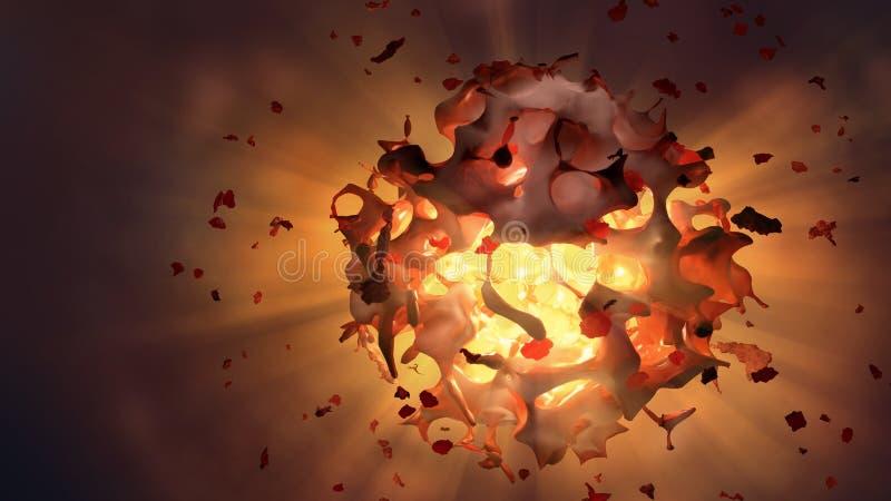 взрыв челки большой бесплатная иллюстрация