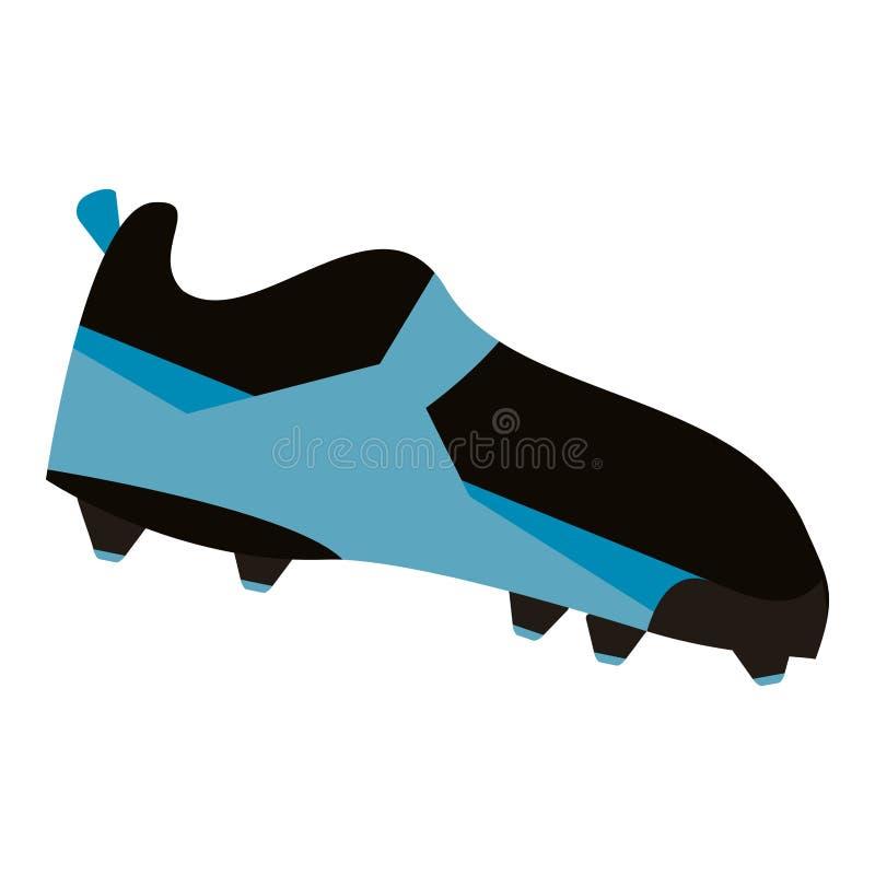 Взятый на острие ботинок ботинка американского футбола бесплатная иллюстрация