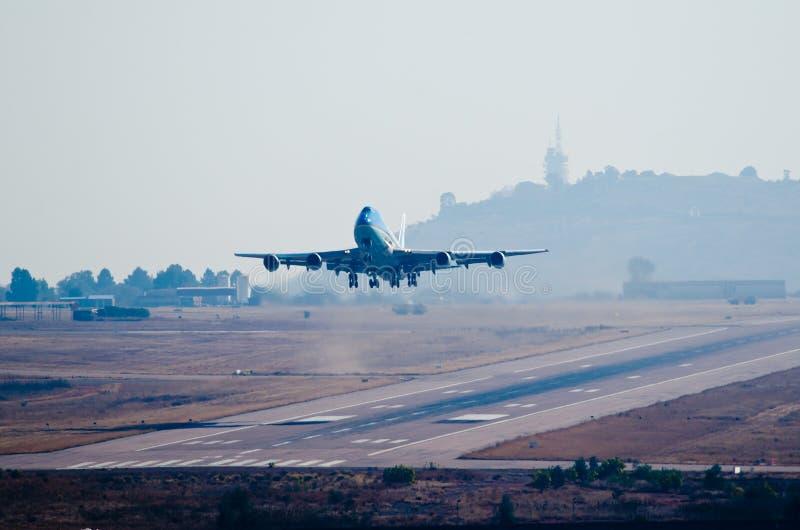 Взлет Air Force One стоковая фотография rf
